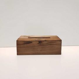جا دستمال کاغذی چوبی 300 برگ مدل 2