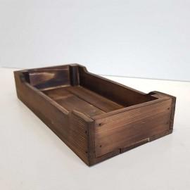 جعبه چوبی طرح ایکیا مدل h5 رنگ قهوه ای