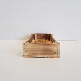 جعبه چوبی طرح ایکیا مدل h5 رنگ سوخته