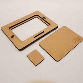 قاب عکس چوبی مدل 2