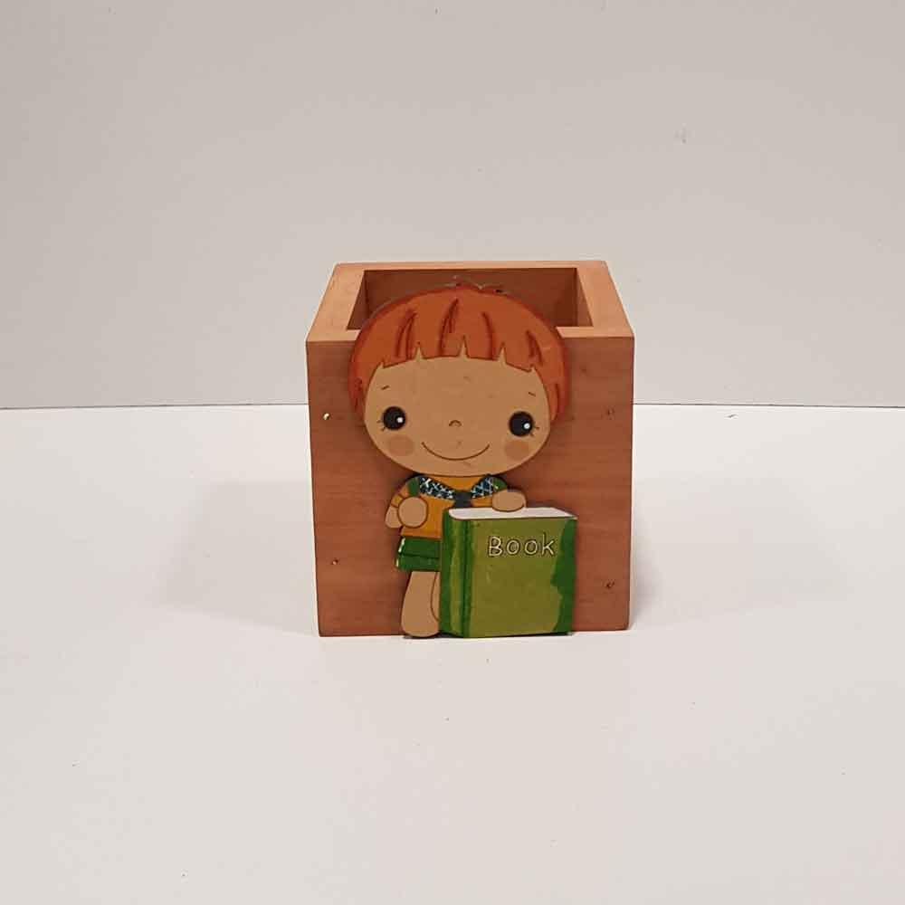 جا قلم چوبی مدل 2