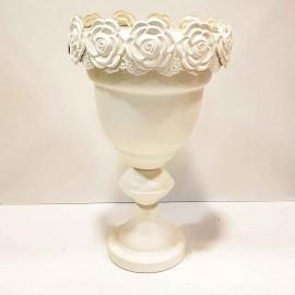 گلدان گل برجسته..