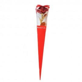 گل رز فلزی قرمز