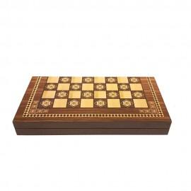 تخته نرد و صفحه شطرنج طرح ترک