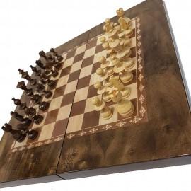 صفحه شطرنج و تخته نرد 50طرح گردو 6