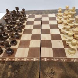 صفحه شطرنج و تخته نرد 50طرح گردو 5