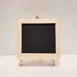 تخته سیاه پایه دار رنگ چوب