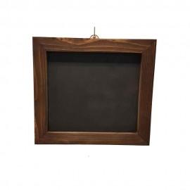 تخته سیاه پایه دار رنگ قهوه ای