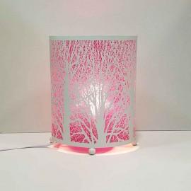 آباژور سفید طرح درخت