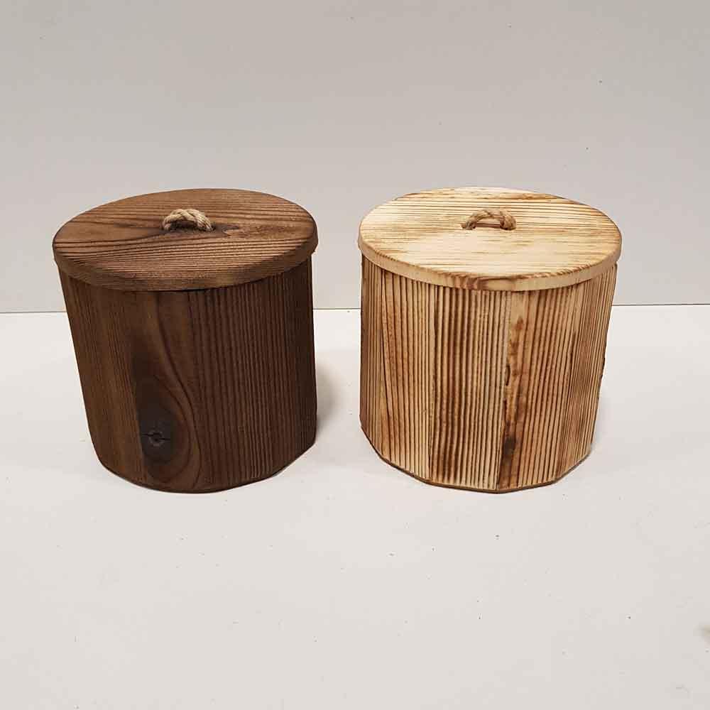 بانکه چوبی درب دار