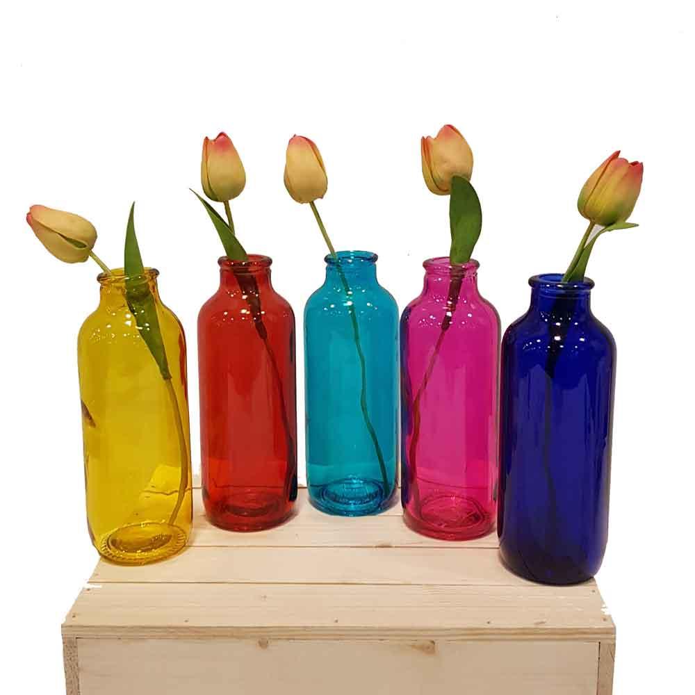 گلدان رنگی ساحل