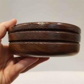 زیرسیگاری چوبی خراطی شده
