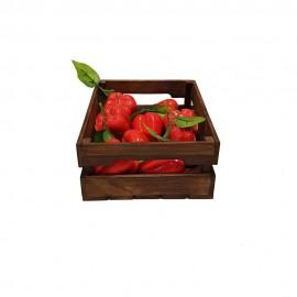 جعبه چوبی طرح ایکیا مدل h 10 رنگ قهوه ای