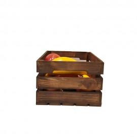 جعبه چوبی طرح ایکیا مدل h 15 رنگ قهوه ای