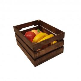جعبه چوبی طرح ای..