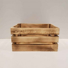 جعبه چوبی طرح ایکیا مدل h 15 رنگ سوخته