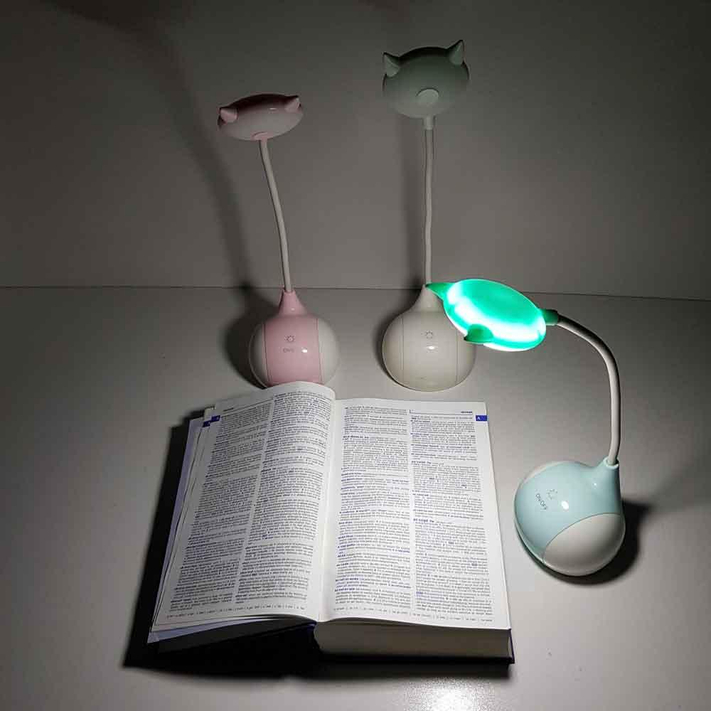 چراغ مطالعه لمسی