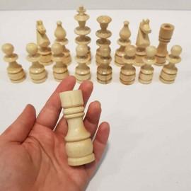 مهره شطرنج چوبی دستساز اعلا بزرگ