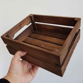 جعبه چوبی متوسط ..