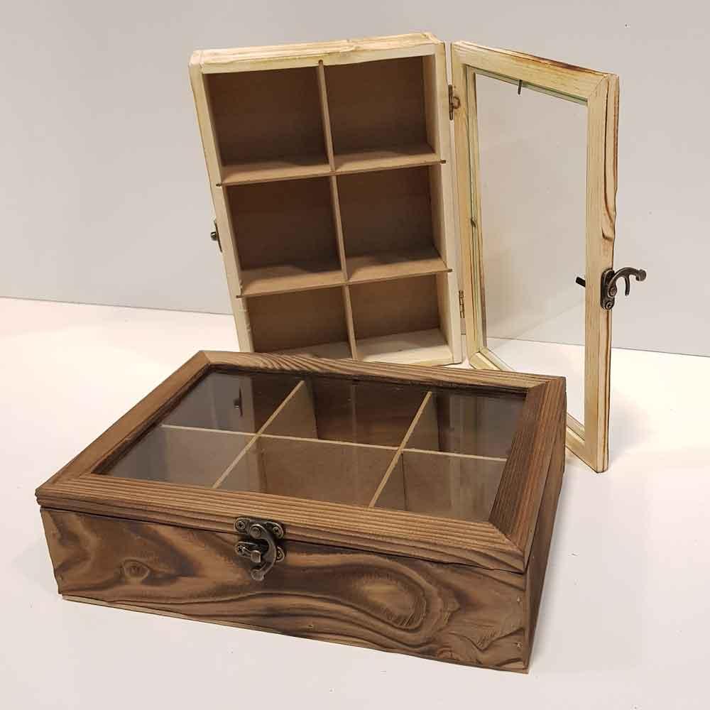 جعبه چای ودمنوش متوسط