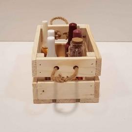 جعبه چوبی مینی رنگ چوب