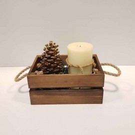 جعبه چوبی کوچک ر..