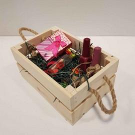 جعبه چوبی کوچک رنگ چوب