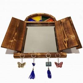 آینه وجاکلیدی سنتی درب متوسط