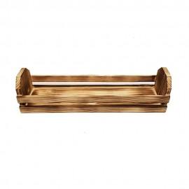 باکس چوبی رومیزی رنگ سوخته