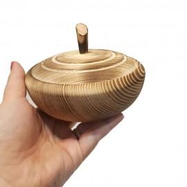 قندان چوبی رنگ س..