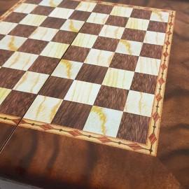 صفحه شطرنج و تخته نرد 50طرح گردو 2