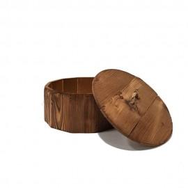 شکلات خوری چوبی دسته طنابی