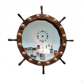 آینه سکان چوبی..