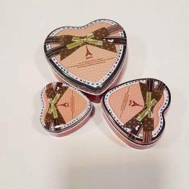 جعبه فلزی قلب سه عددی