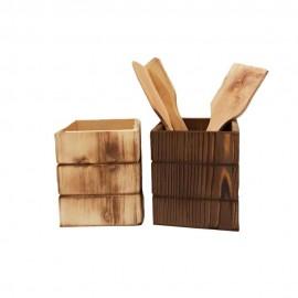 باکس چوبی چهارگوش