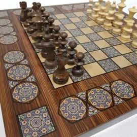 صفحه شطرنج و تخته نرد سفارشی
