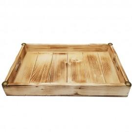 سینی چوبی نراد رنگ روشن