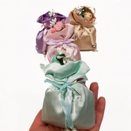 گل خشک کیسه ای معطر پارچه ای