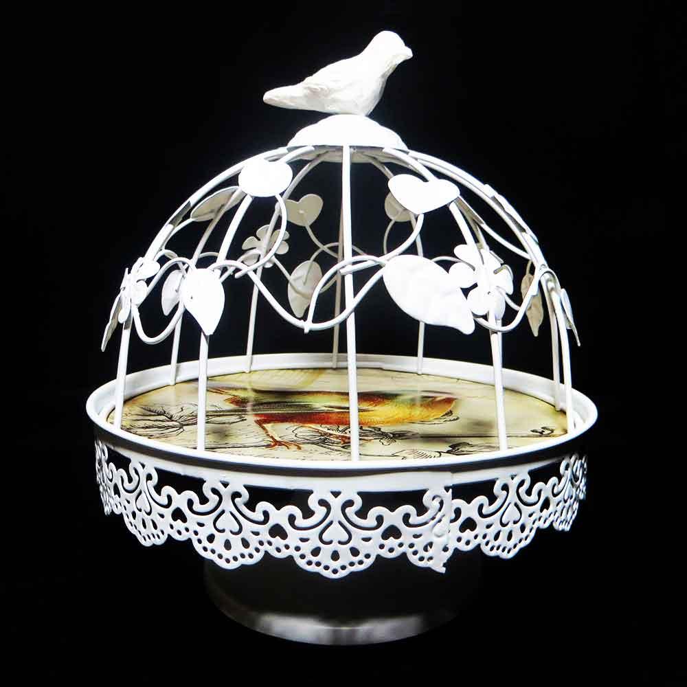 گلدان قفس تزئینی پرنده کوچک