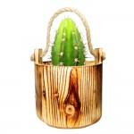 سطل چوبی کوچک طناب دار