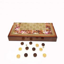 صفحه شطرنج وتخته نرد..
