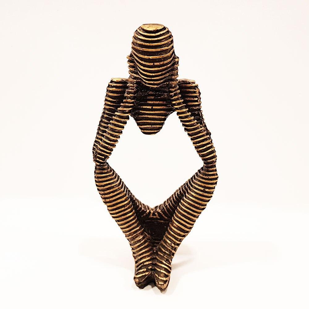 مجسمه مومیایی طرح نشسته 3
