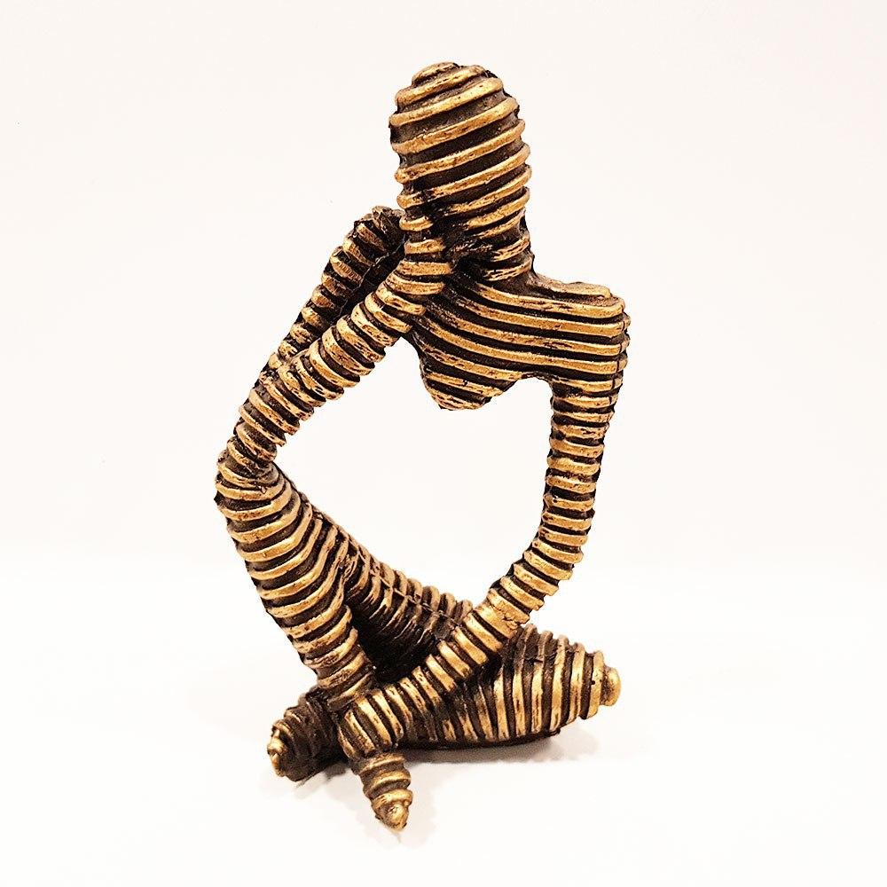 مجسمه مومیایی طرح نشسته 2