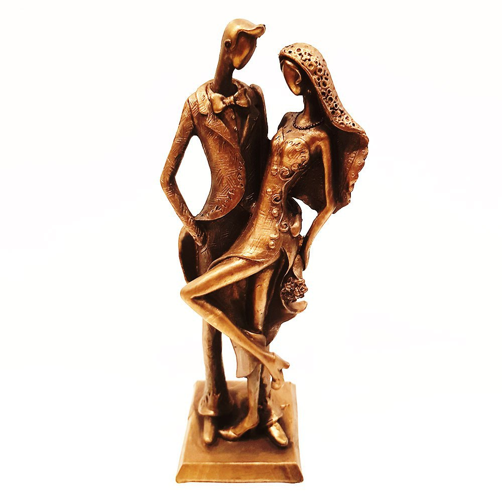 مجسمه زوج جوان سایز متوسط کد 2