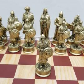 مهره شطرنج پلی استر جنگ سلیمان