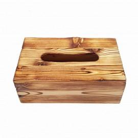 جا دستمال کاغذی چوبی 300 برگ