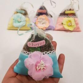 گل خشک کیسه ای معطر مثلثی