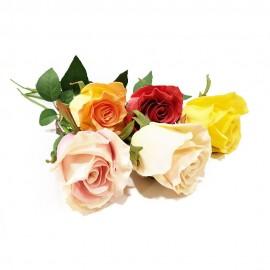 گل رز لمسی