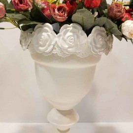 گلدان گل برجسته