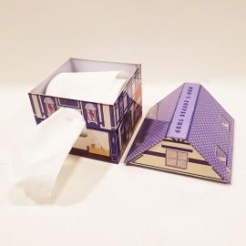 جادستمال رولی مدل کلبه